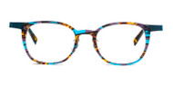 C1 Brown / Teal Tortoise w. Teal Trim