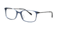 C1 Crystal Gray Blue / Silver Temples
