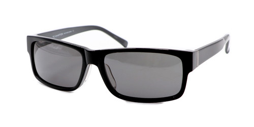 C1 Black/Gray w/ Solid Gray Polarized Lenses