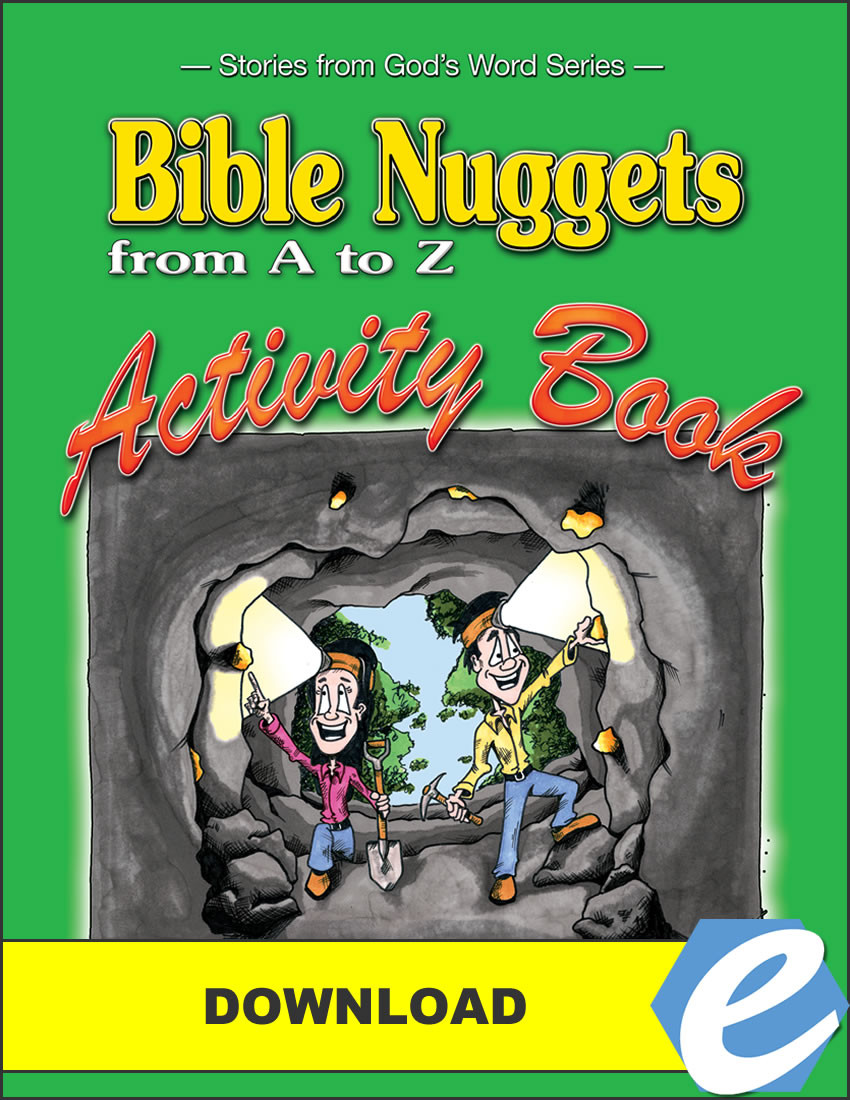Bible Nuggets From A To Z Activity Book Pdf Christian Liberty