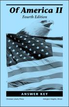 Of America, 4th edition - Answer Key