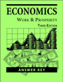 Economics: Work and Prosperity, 3rd edition -  Answer Key