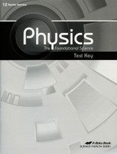 Physics: The Foundational Science, 2nd edition - Test Key
