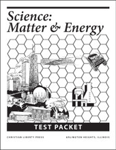 Science: Matter and Energy - Test Packet