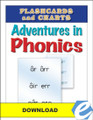 Adventures in Phonics: Flashcards and Charts - PDF Download