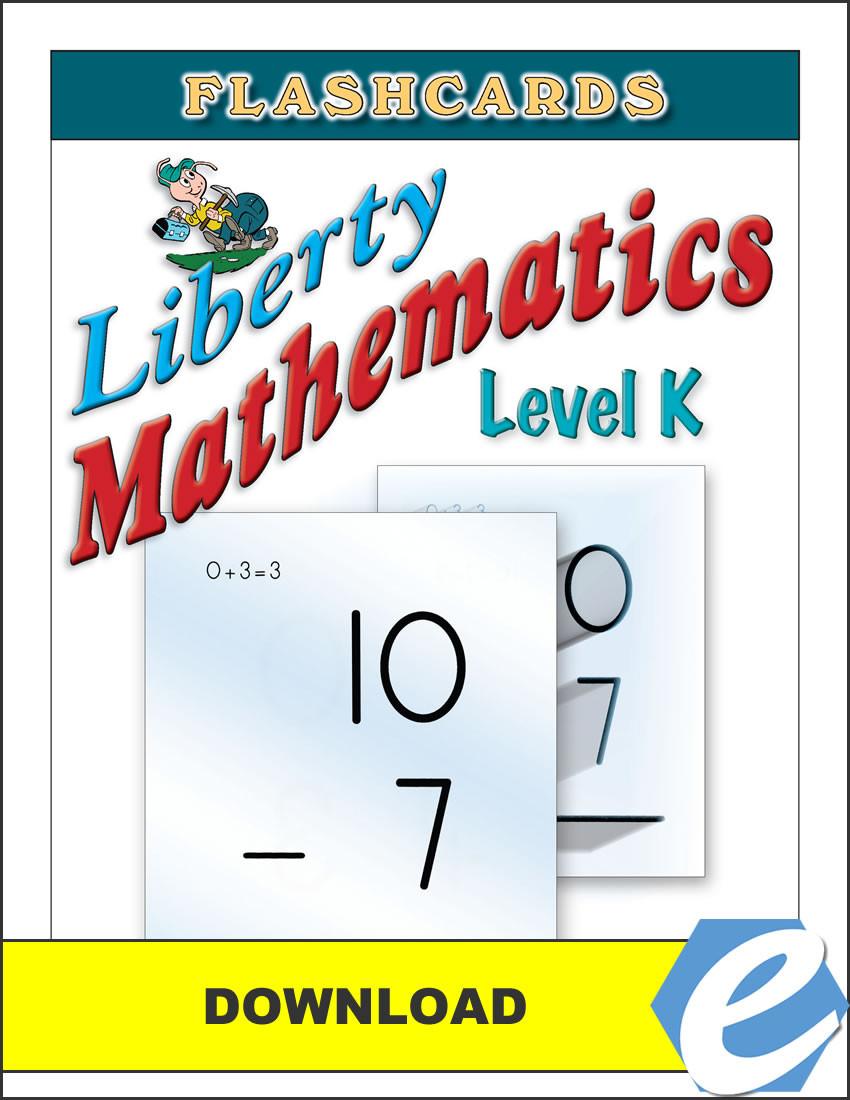 Liberty Mathematics Level K Flashcards Pdf Christian Liberty