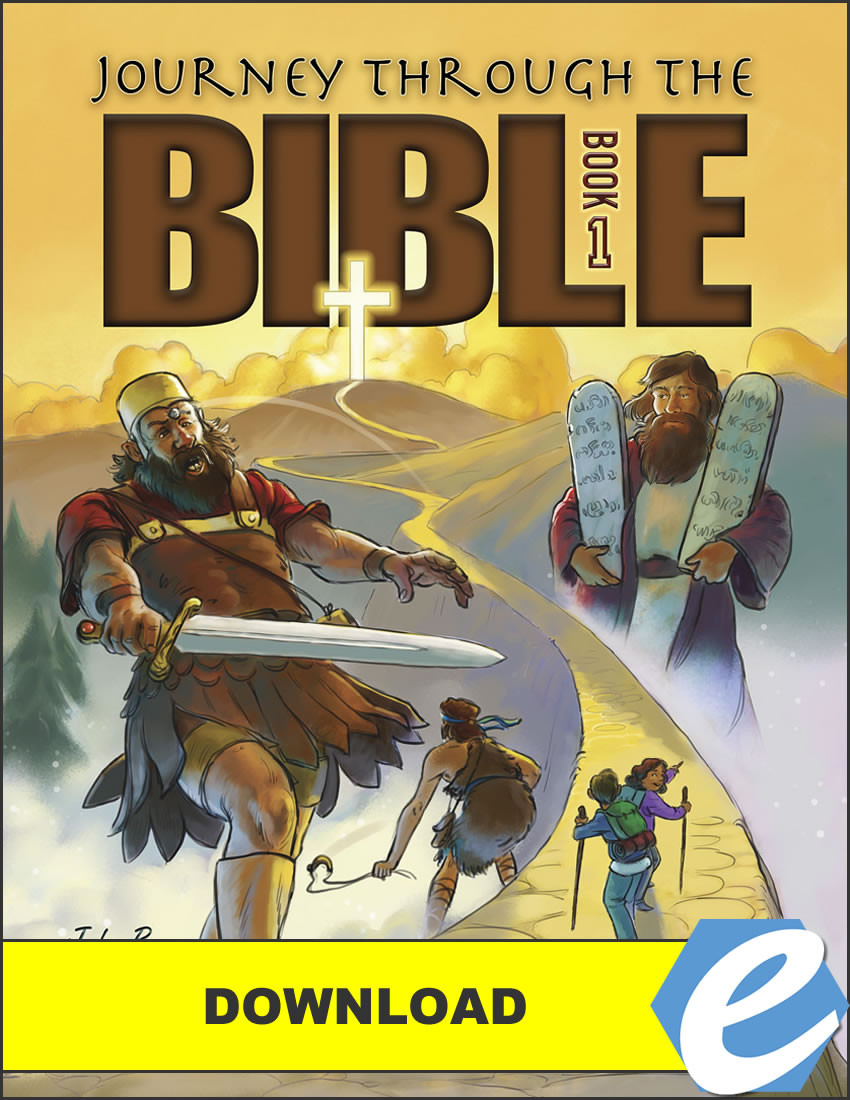 Journey Through the Bible: Book 1 - Pentateuch and Historical Books, 1st  edition - PDF
