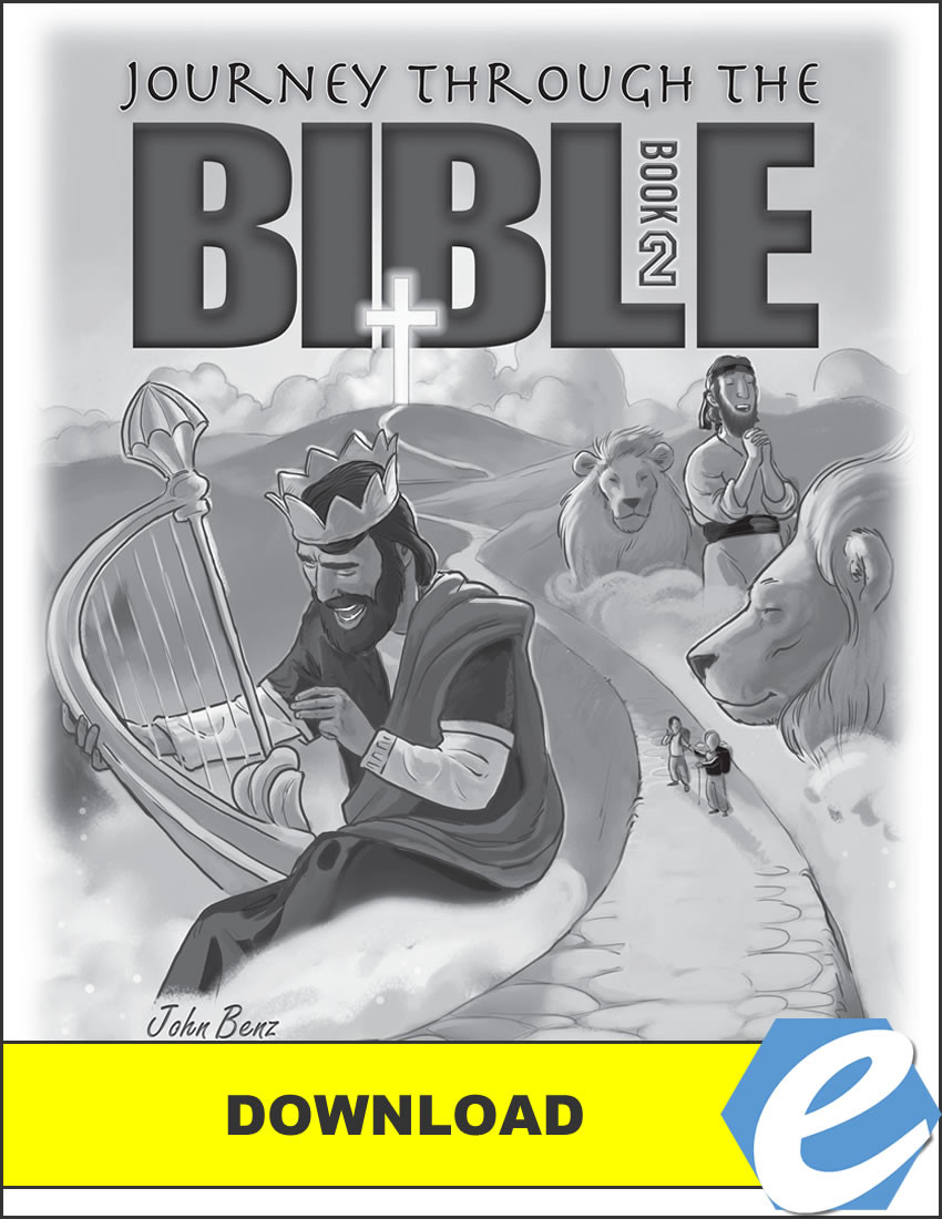 Journey Through the Bible: Book 2 - Wisdom and Prophetic Books - Answer Key  - PDF