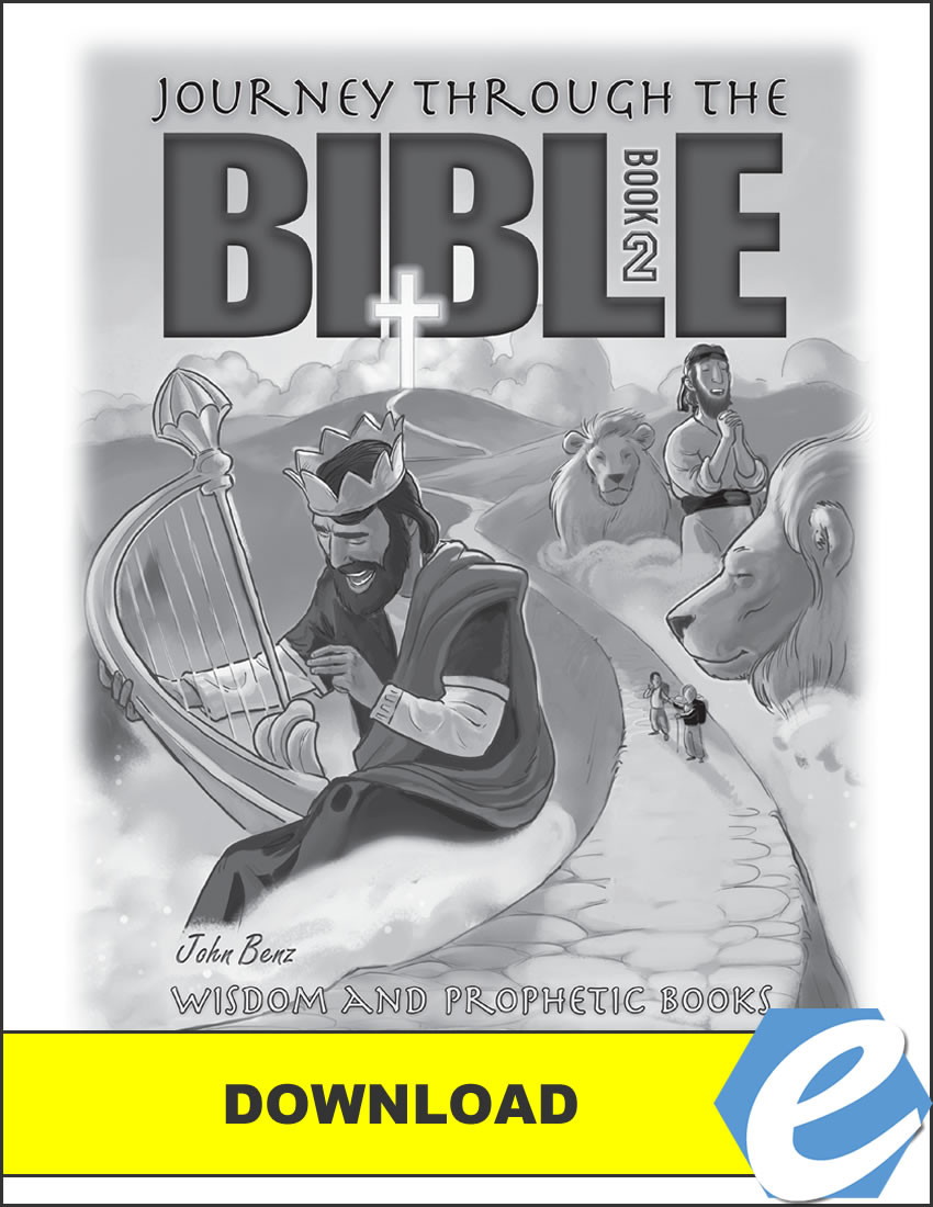 Journey Through the Bible: Book 2 - Wisdom and Prophetic Books - Test  Packet - PDF