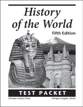 History of the World in Christian Perspective, 5th edition - Test Packet