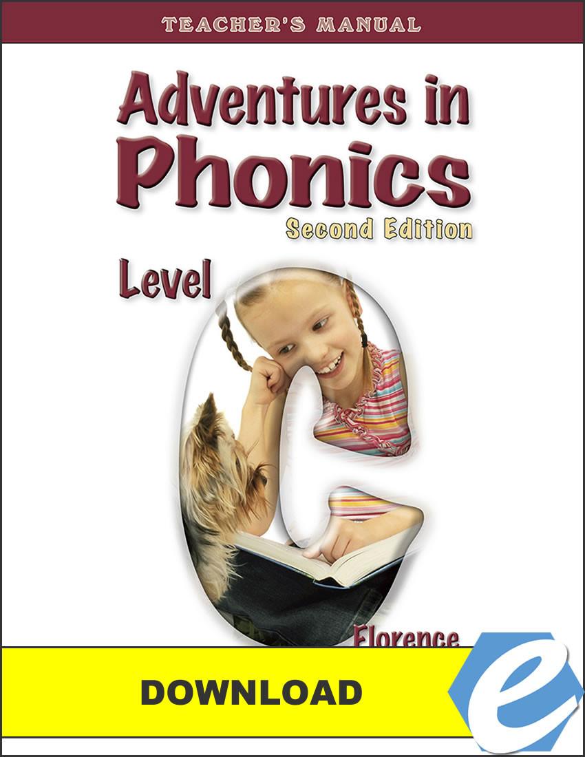 Adventures in Phonics: Level C, 2nd edition - Teacher's Manual - PDF