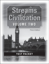 Streams of Civilization Volume Two, 3rd edition - Test Packet