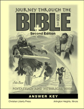 Journey Through the Bible: Book 1 - Pentateuch and Historical Books, 2nd edition - Answer Key