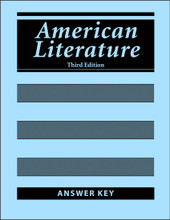 American Literature, 3rd edition - Answer Key
