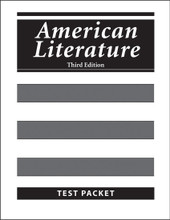 American Literature, 3rd edition - Test Packet