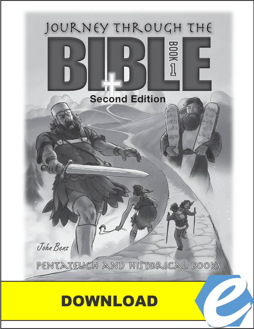 Journey Through the Bible: Book 1 - Pentateuch and Historical Books, 2nd  edition - Test Packet - PDF