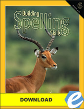 Building Spelling Skills: Book 6, 2nd edition - PDF Download