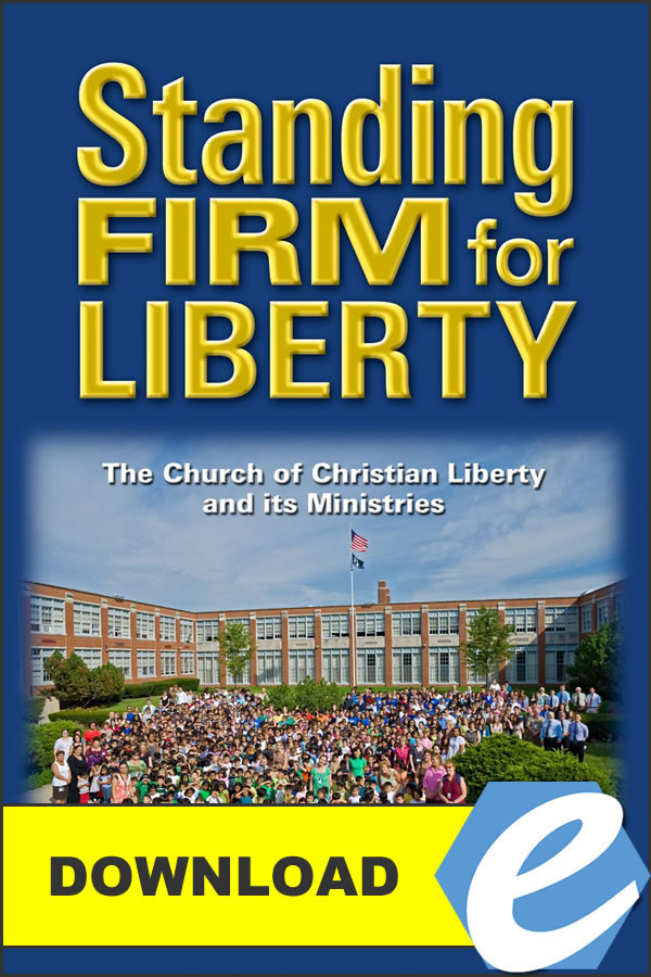 Standing Firm For Liberty Pdf Christian Liberty