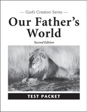 Our Father's World, 2nd edition - Test Packet