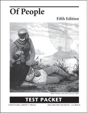 Of People Literature, 5th edition - Test Packet