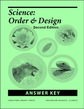 Science: Order and Design, 2nd edition - Answer Key