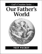 Our Father's World - Test Packet