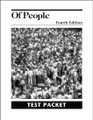 Of People Literature, 4th edition - Test Packet