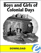 Boys and Girls of Colonial Days - Answer Key - PDF Download