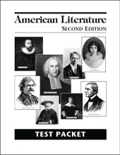 American Literature, 2nd edition - Test Packet