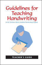 Guidelines for Teaching Handwriting