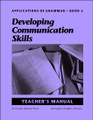 Applications of Grammar Book 5: Developing Communication Skills - Teacher's Manual