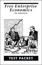 Free Enterprise Economics in America - Test Packet
