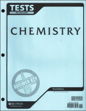 Chemistry, 3rd edition - Tests Answer Key
