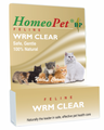 Homeopet Feline Wrm Clear 15 ml