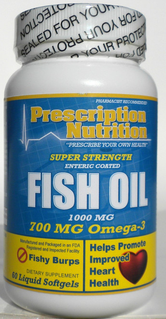 fish oil softgels omega 3 fats prescription nutrition