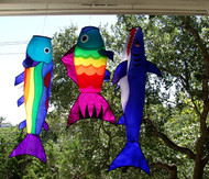 Rainbow Trout Fish Windsock