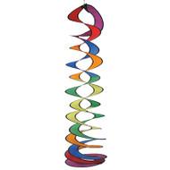 Rainbow Curlie Duet Wind Spinner