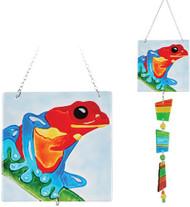 Glass Sun Catchers (Poison Dart Frog)