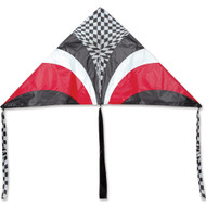 6 ft. 5 In. Delta Kite - Red Op-Art