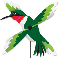 Lawn Spinner - Hummingbird Whirligig