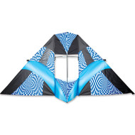 12 ft. Box Delta Kite - Blue Op-Art