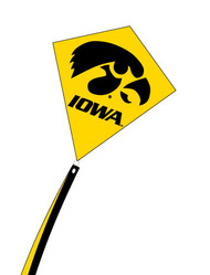 Iowa University Diamond Kite