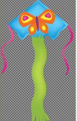 Large Super Flier (Butterfly)