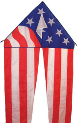 55 Inch Patriotic Delta With Tails
