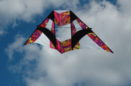 8.5 ft. Box Delta Kite - Warm Orbit