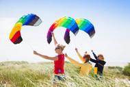 Symphony Beach III 1.3 Rainbow Foil Kite