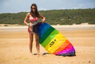 Symphony Beach III 2.2 Rainbow Foil Kite