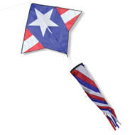 Gyro Delta with Spinsock (Patriotic