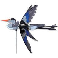 "Lawn Spinner - 42"" Great Blue Heron"
