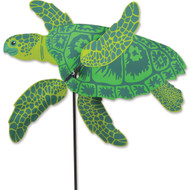 "Lawn Spinner - 27"" Sea Turtle Whirligig"